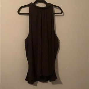 The Limited Black sleeveless Turtleneck